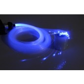 0.75mm x (2m~5m) x (50pcs~600pcs) Sparkle Flash point PMMA Plastic Fiber Optic End Glow For DIY Lighting Decoration