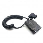 SmallHD 502/702 Monitor Power Cable, LP-E6 Power Coupler DC Dummy Battery For Canon 5D markII 7D 60D DSLR Camera