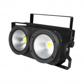 200W 2Eyes COB LED Audience Blinder Light Warm White Stage Lighting Effect DJ Disco Party Holiday Bar Club Wedding Lights