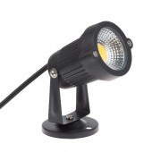 COB Garden Lawn Lamp Light AC100-240V Outdoor LED Spike Light 3W Path Landscape Waterproof Spot Bulbs