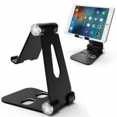 "Foldable Multi-Angle Stand for Tablet Phone Video Game Dock for Nintendo Switch iPhone X 8 7 6 Plus iPad Tablets 4-10"" Holder"