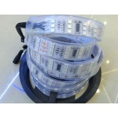 12V TM1812 5050 RGB LED Pixel Strip 5m 144leds/m Three Row Digital Dream Color Flexible Tape Light
