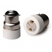 10pcs B22 to MR16 Lamp Base Conversion Socket Resistance PC B22 Socket