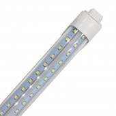 R17D T8 4ft 120cm 1200mm Led Tube Light Adjustable Rotating 270 Degree LED V Shape Tube Lights Walking Cooler Lighting