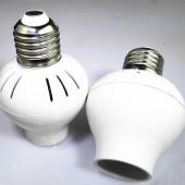 E27 to E27 Voice Sensor Lamp Base Converter, E26 to E26 Infrared Sensor Lamp Base Adapter