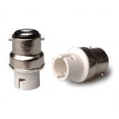 10pcs B22 to BA15D Lamp Base Conversion Socket Resistance PC B22 Socket