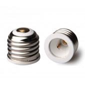 10pcs E26 to E11 Lamp Base Conversion Socket Resistance PC E26 Socket