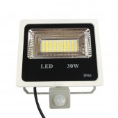 30W Refletor LED Flood Light Searchlight With Pir Motion Sensor 220v Floodlight Waterproof Outdoor Lighting Factory Price85-265V