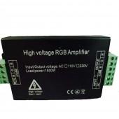 110V 220V 1500W LED RGB Amplifier Signal Repeater