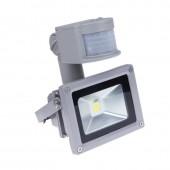 LED Flood Lights 10W 20W 30W 50W Pir Motion Sensor Outdoor Lighting Reflector Spot IP65 Floodlights Garden WallLamp