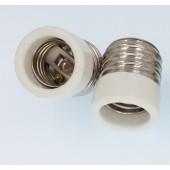10pcs E40 to E27 Lamp Base Conversion Socket Resistance PC E40 Socket