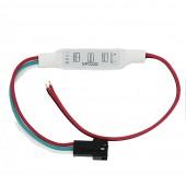 DC5 12V 24V 3Key Mini LED Pixel Controller For WS2811 TM1809 SK6812 APA102 WS2812B LED Pixel Strip Module