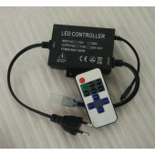 110V 220V 11Keys IR Remote Single Color LED Dimmer Controller 1500W EU Plug / US plug
