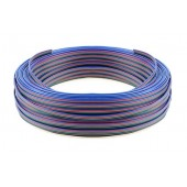10m/20m Roll 2pin/3pin/4pin/5pin 22AWG/20AWG/18AWG LED Connector Extension Wire Cable