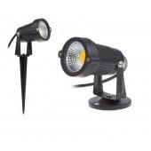 COB Garden Lawn Lamp Light AC100-240V Outdoor LED Spike Light 5W Path Landscape Waterproof Spot Bulbs