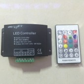 4CH 24 Key RF Remote RGBW Music Controller Dream Color LED Music Rgbw Controller DC12-24V For RGBW LED Strip