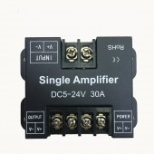 DC 12-24V 30A Led Data Repeater Signal Amplifier Aluminum
