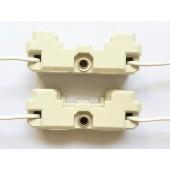 4pcs G53 Lamp Socket, G53 AR111 Lamp Holder, Ceramic, G53HID LED Socket 250V 2A