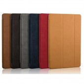 For iPad Mini 1 2 3 Case Original Magnetic Deer PU Leather Smart Cover for ipad Mini 3 2 1 Case Tri-fold Stand Auto Sleep/Wake