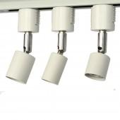 E26 LED Track Light Socket, 2Wire Track Light Head Japan Use E26 Light Socket Extend