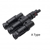 3 Pcs IP67 3 To 1 T Branch MC-4 Connector Male Or Female 100% PP0 2.5mm Sq~6.0mm