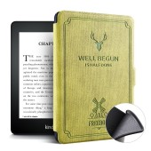 Kindle Paperwhite 2 3 Case Cover, Magnetic PU Leather TPU Soft Back Smart Cover for All Kindle Paperwhite 1 2 3 Ebook Case 6''