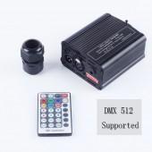 DMX 16W RGBW LED Fiber Optic Engine RF Remote Control for All Kinds of Optical Fiber Cable Ceiling Lighting Driver
