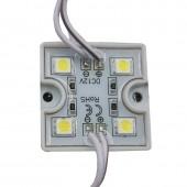 20pcs DC12V 5050 4 LED Modules IP68 Waterproof LED Modules
