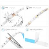 LED Strip Light RGB 5050 SMD 2835 Flexible Tape RGB Diode Ribbon