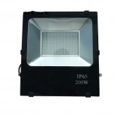 SMD LED Flood Light 200W Black Waterproof Spotlight Outdoor Lighting