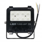 Slim Floodlight 10W Driverless Black Housing LED Wall Washer