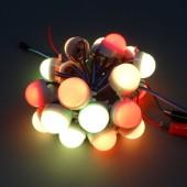 200Pcs DC12V WS2811 LED Pixel RGB 3LEDS 5050 Light String D30A Module