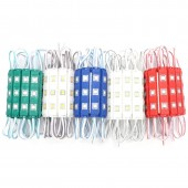 20Pcs DC 12V 5050 3LED Injection Module With Lens