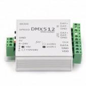 DMX512 Controller WS2812B SK6812 WS2811 DMX SPI DMX512 Decoder