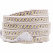LED Strip Flexible Light 276leds/m Waterproof Led Neon Rope SMD 2835 AC 220V Brighter Than 5050
