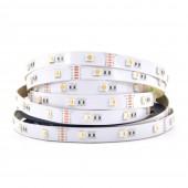 5050 RGBW LED Strip Light 4 Colors In 1 16.4ft 30LEDs/M 12V