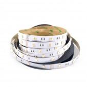 5M 4 In 1 RGBW Flexible LED Strip SMD 5050 RGB LED Chip 30LED/M DC 12/24V