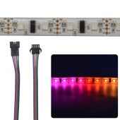 5X 1M LPD8806 48LEDS/M 5050 RGB SMD LED Strip Light Tape Pixel DC 5V
