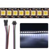 1M 144LEDs/M 5V APA102-C SK9822 5050 144 Pixels/M LED Pixel Strip