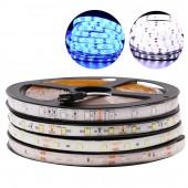 SMD RGB LED Strip LED Light 5M 5050 2835 Flexible LEDs Lighting 12V Tape Diode Ribbon DC 12V