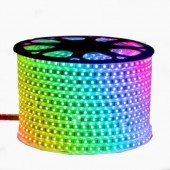 220V 240V RGB Led Strip 5050 Waterproof Led Tape Rope Ribbon Lights 60LEDs/m 10mm PCB Width 1M 5M 10M For Home Decoration