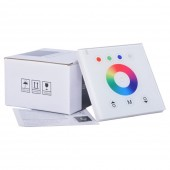 Wall-Mounted LED Touch Switch Panel Controller Dimmer DC 12-24V