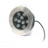 9W Underground LED Buried Light Underground Lamp IP67 Waterproof