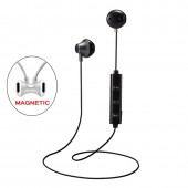 820 Half In Ear Wireless Bluetooth Earphone Magnetic Stereo Sport Running Headsets With Mic For IPhone Samsung Xiaomi