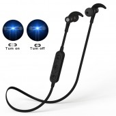 New HT3 Wireless Bluetooth Headset Magnet Switch In-ear Stereo Earphone With Mic Sport Running Music For Phone