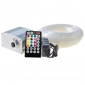 2020 Smartphone APP Control Fiber Optic Light 10W Shimmering RGBW LED Light Kit