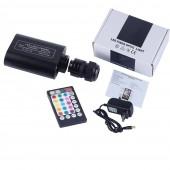 Bluetooth APP Control Fiber Optic 12W Starry Car Star LED Light Kid Room Ceiling Kit