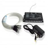 20W RGB Light Source+200pcs 2m 0.75mm Fiber Optic Tails Fibre Optic Star Ceiling