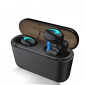Mini Bluetooth 5.0 Earphones TWS Wireless Headphones Sports Gaming Headset With Mic Power Bank For Iphone Xiaomi Redmi Airdots
