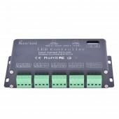 6CH DMX 512 Controller DC 5V-24V Led Controller For Led Strip Led Neon Led Fixtures